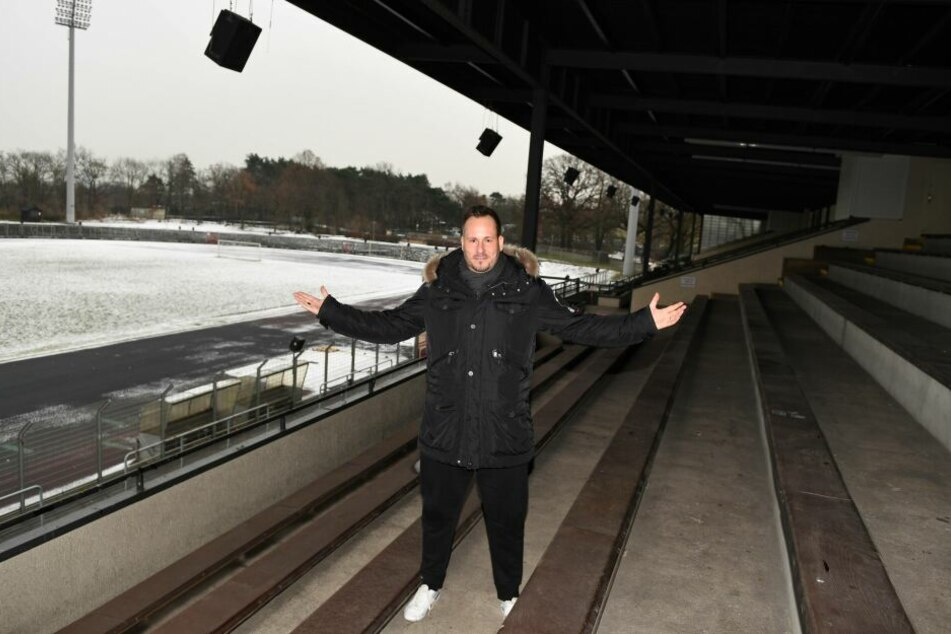 Mister TeBe? Jens Redlich, der höchst umstrittene Vorstandsvorsitzende von Tennis Borussia.