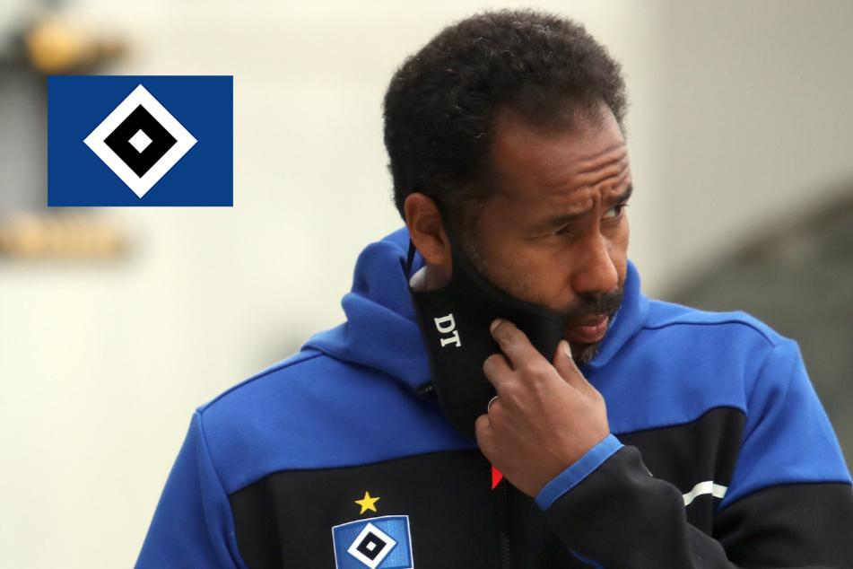 """""""Müssen aufpassen"""": HSV-Coach Thioune warnt vor Spiel bei Holstein Kiel"""