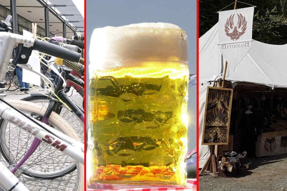Drahtesel und echte Ritter: Das ist Euer Samstag in Leipzig