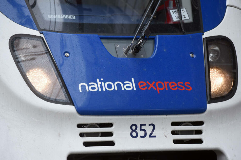 Ein Zug von National Express.