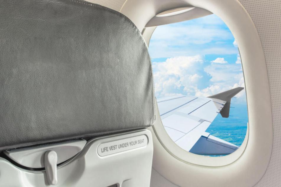 Ein Flugzeugsitz war Auslöser für einen kindischen Streit. (Symbolbild)