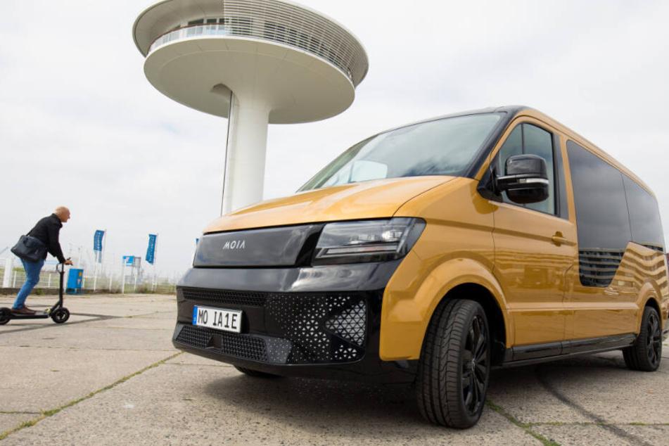 VW rührt seit Längerem die Werbetrommel für Moia wie hier beim New Mobility Day in der Hafencity.