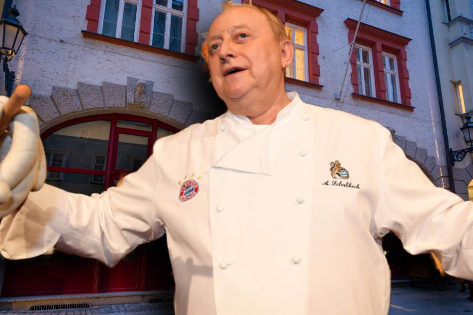 TV-Koch Alfons Schuhbeck verliert seinen Stern
