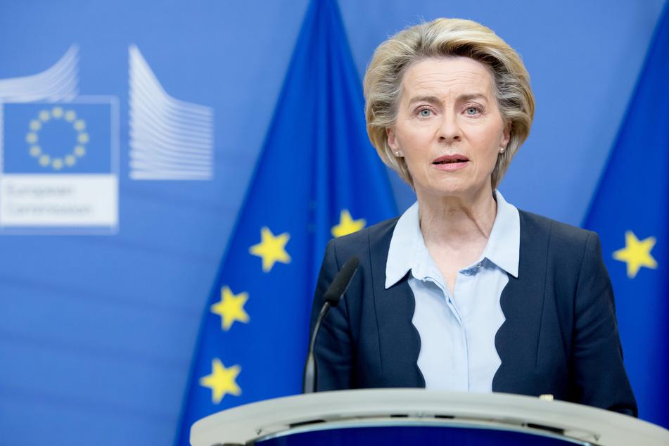 Ursula von der Leyen (62), Präsidentin der Europäischen Kommission kündigte weitere Verhandlungen mit Biontech/Pfizer an.
