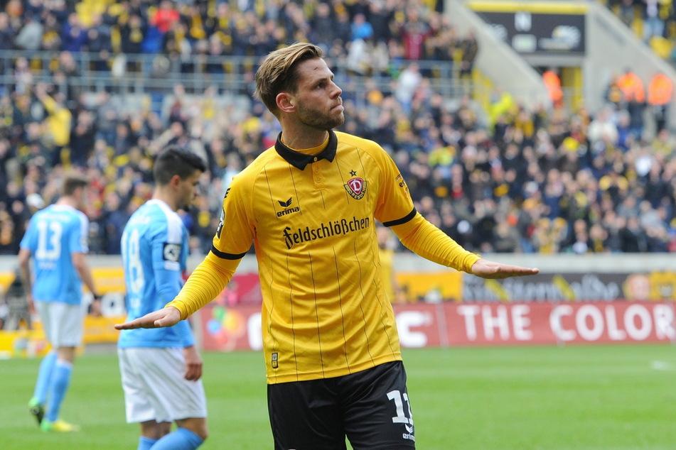 Justin Eilers spielte zwei Jahre für Dynamo.