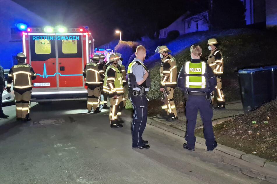 Die Rentnerin erlitt schwere Brandverletzungen und kam per Rettungswagen in eine Spezialklinik.