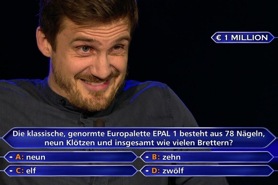 Ronald Tenholte (35) aus Köln konnte auch die Millionenfrage richtig beantworten.