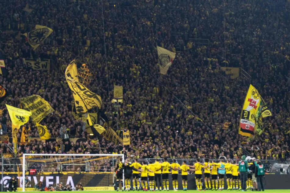 Neue Rekordkulisse? Wahrscheinlich! Für das DFB-Pokal-Spiel des BVB gegen Borussia Mönchengladbach wurden bereits 79.000 Karten verkauft. Der Zweitrunden-Rekord liegt bei 79.037 Zuschauern.