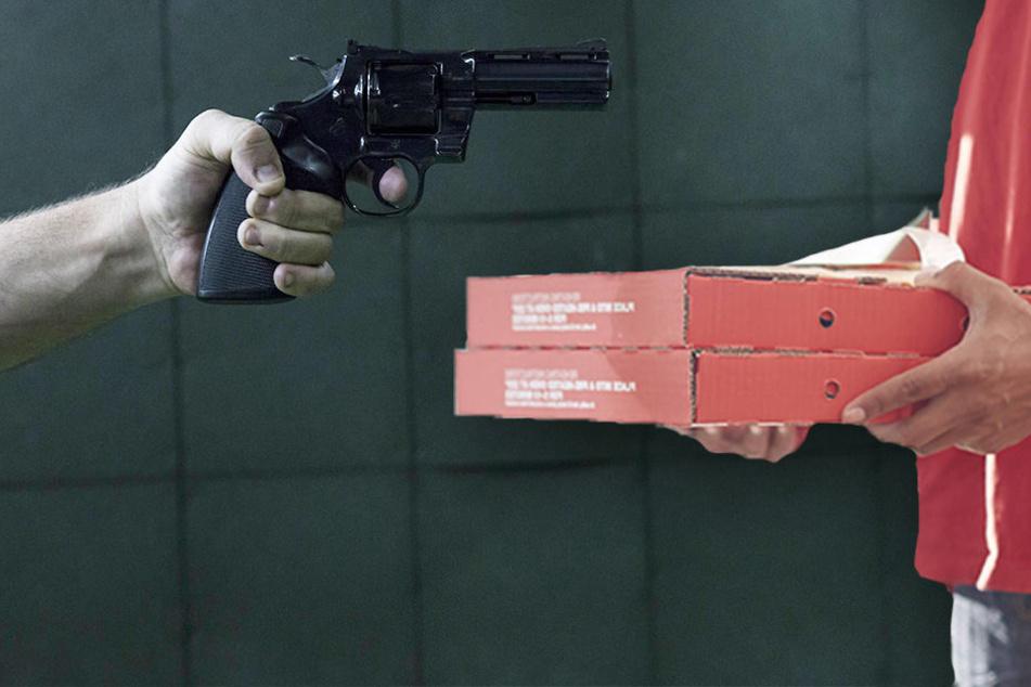 In Leipzig wurde ein Pizzabote von einem Unbekannten mit einer Waffe bedroht. (Symbolbild)