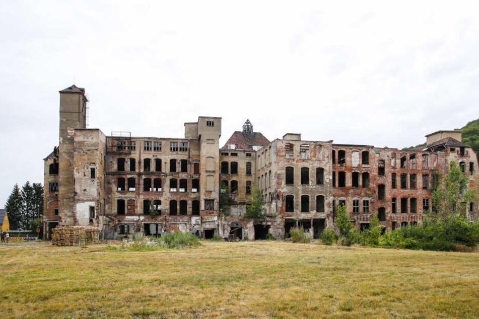 Der Abriss des Industriebaus steht in den Startlöchern.