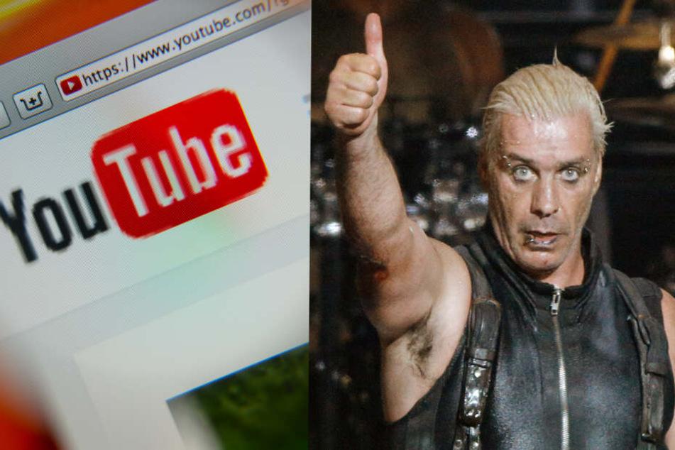Till Lindemann dürfte sich beim Blick auf Rammsteins YoutTube-Konto durchaus freuen!