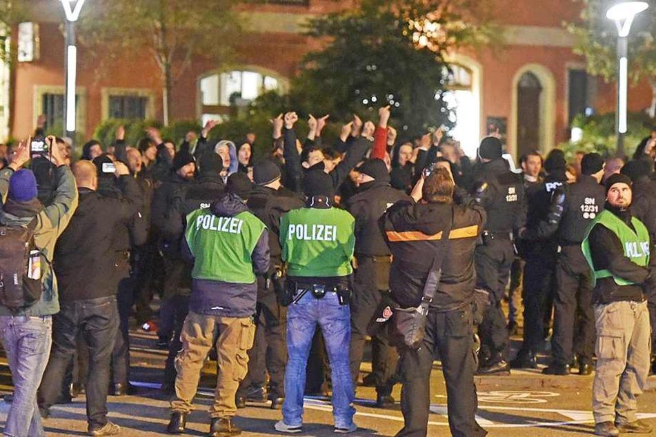 Seit September gibt es in Bautzen immer wieder Unruhen zwischen Rechten, Linken und Asylbewerbern.