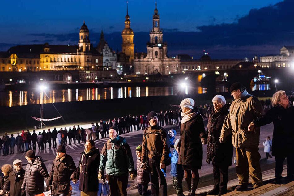 Wie letztes Jahr soll auch diesmal die Menschenkette um die Altstadt geschlossen werden.