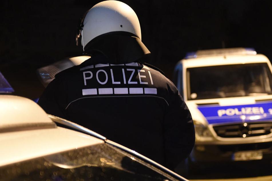 Die Polizei rückte mit einem Großaufgebot von 15 Streifenwagen an. (Symbolbild)