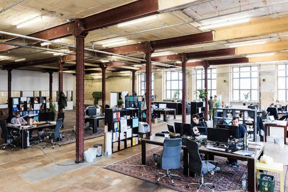 Hier im SpinLab in Leipzig startet 2018 das Förderprogramm der AOK PLUS. Bewerben kann man sich ab sofort.