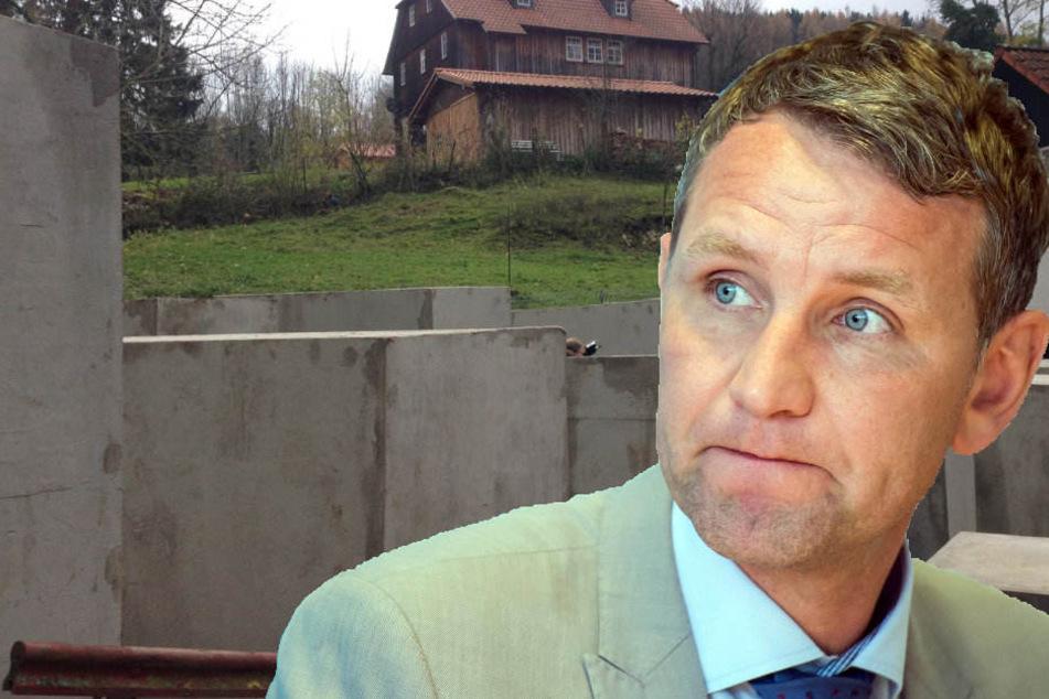 Staatsanwalt ermittelt wegen Mahnmal-Aktion in Höcke-Wohnort