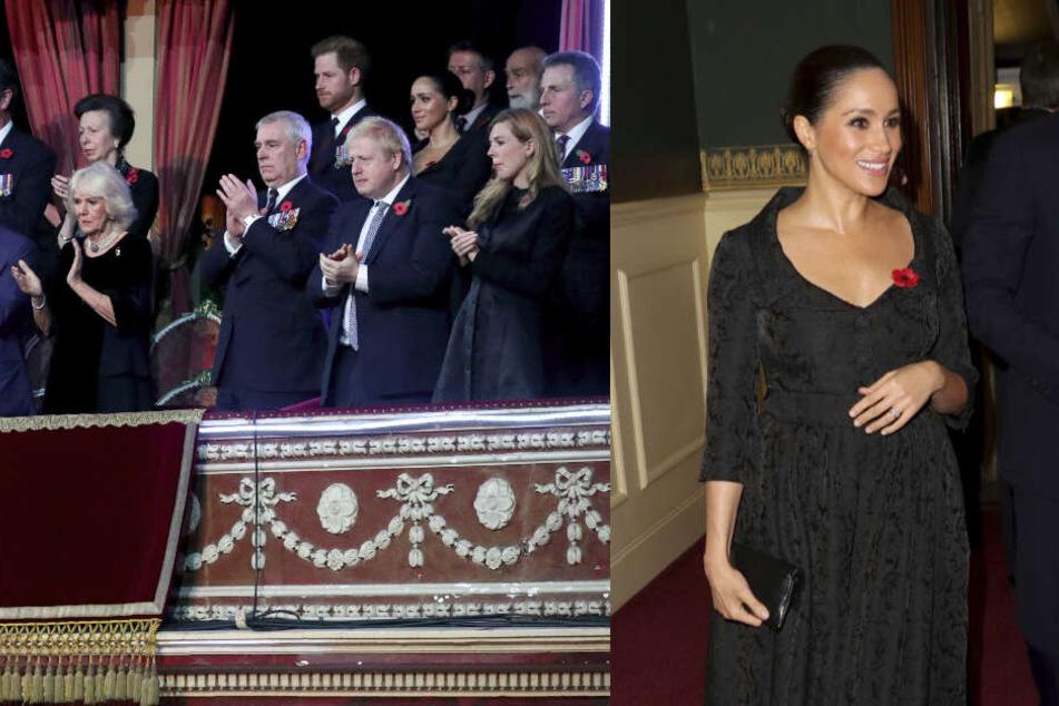 Meghan streichelt ihren Bauch: Erwartet die Herzogin ein zweites Baby?