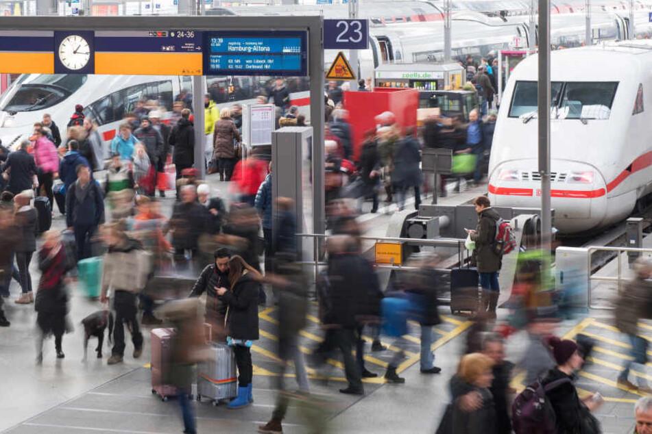 Die Bundespolizei griff die beiden am Münchner Hauptbahnhof auf. (Symbolbild)