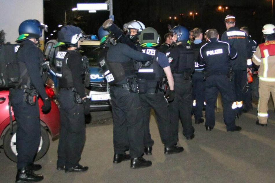 Einsatzbesprechung bei der Polizei.