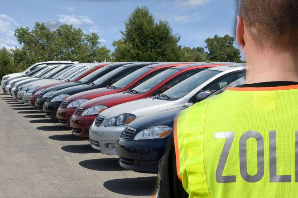 Riesige Razzia Händler Holten Hunderte Autos Illegal Von Afrika