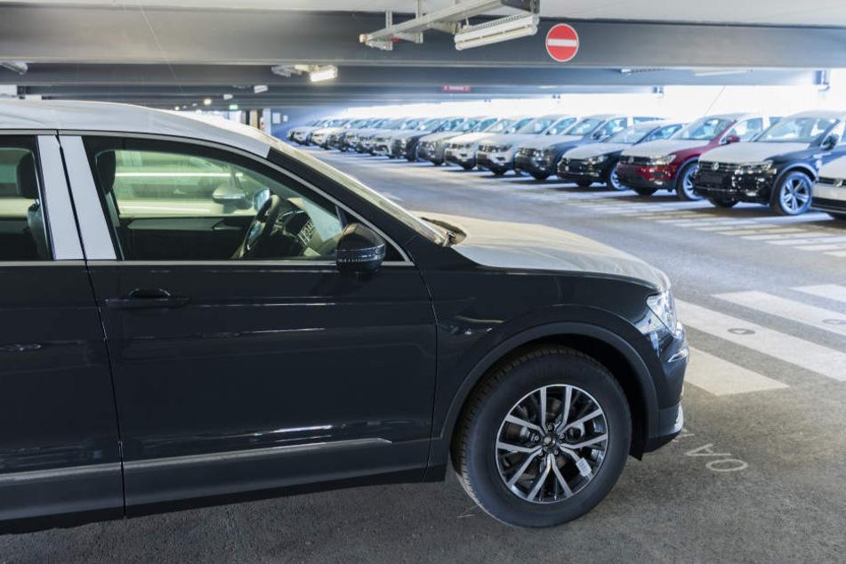 VW nutzt den Hauptstadtflughafen BER vorerst als Parkplatz.