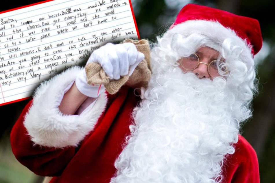 Wunschzettel rührt das Netz: Obdachloser Junge (7) schreibt dem Weihnachtsmann!