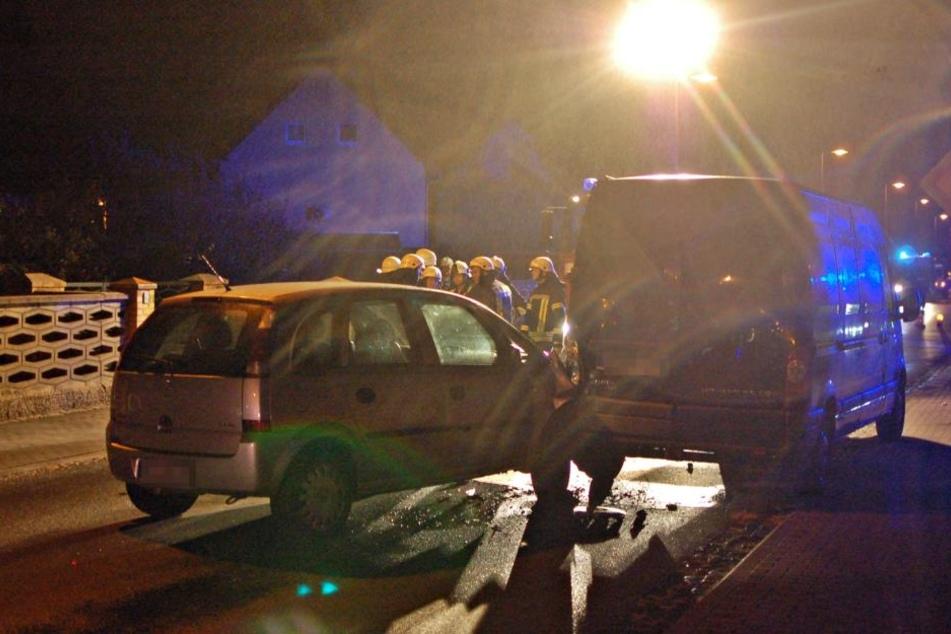 An beiden Fahrzeugen entstand erheblicher Sachschaden.