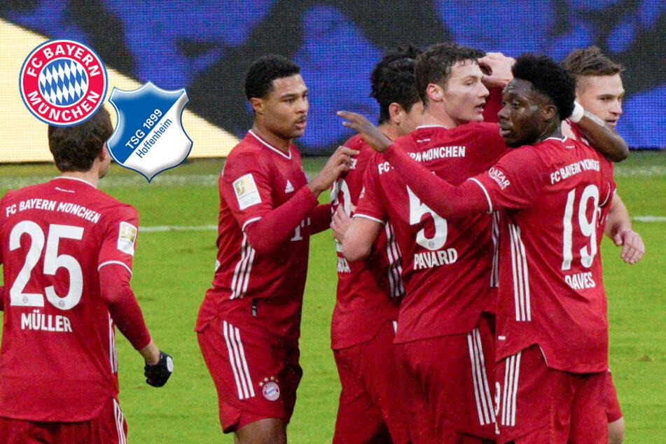 FC Bayern gelingt Revanche für bittere Pleite und lässt Hoffenheim keine Chance