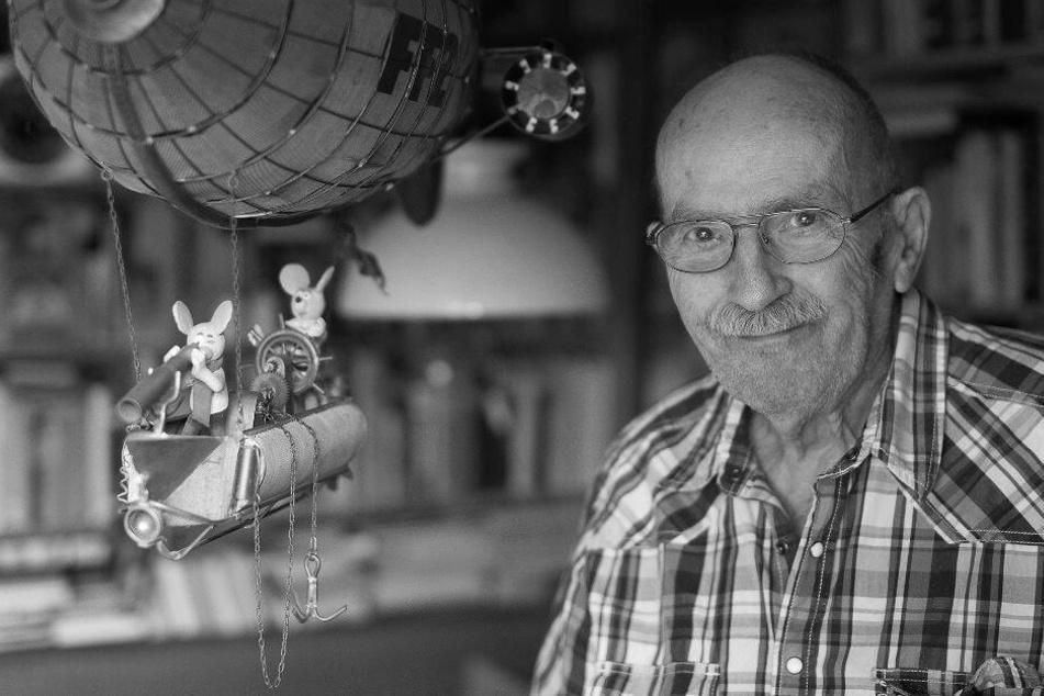 """Berlin: """"Fix und Fax""""-Zeichner Jürgen Kieser im Alter von 97 Jahren gestorben!"""