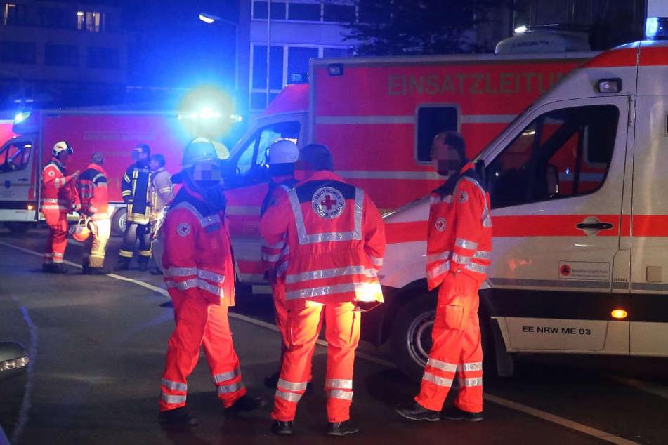 Zwei ältere Männer wurden bei den Unfällen schwer verletzt. (Symbolbild)