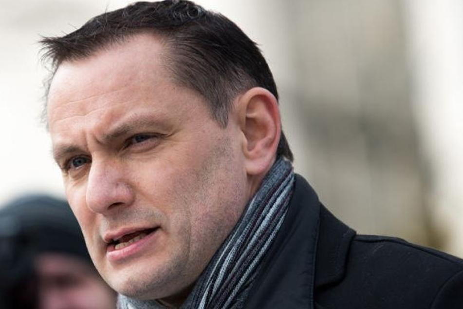 Tino Chrupalla (43, AfD) besiegte Michael Kretschmer bei der Bundestagswahl 2017.