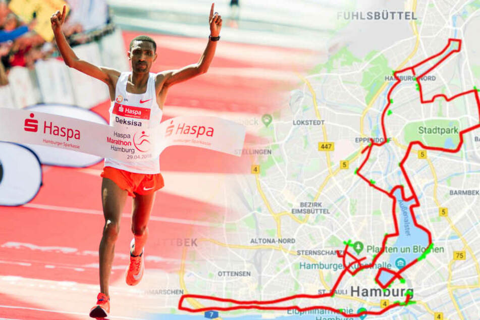 Hamburg Marathon: Diese Straßensperrungen kommen auf Euch zu!