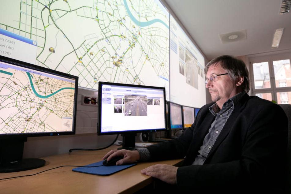 Dresden: Dresdens Straßen der Zukunft: Wenn die Autos mit der Ampel reden