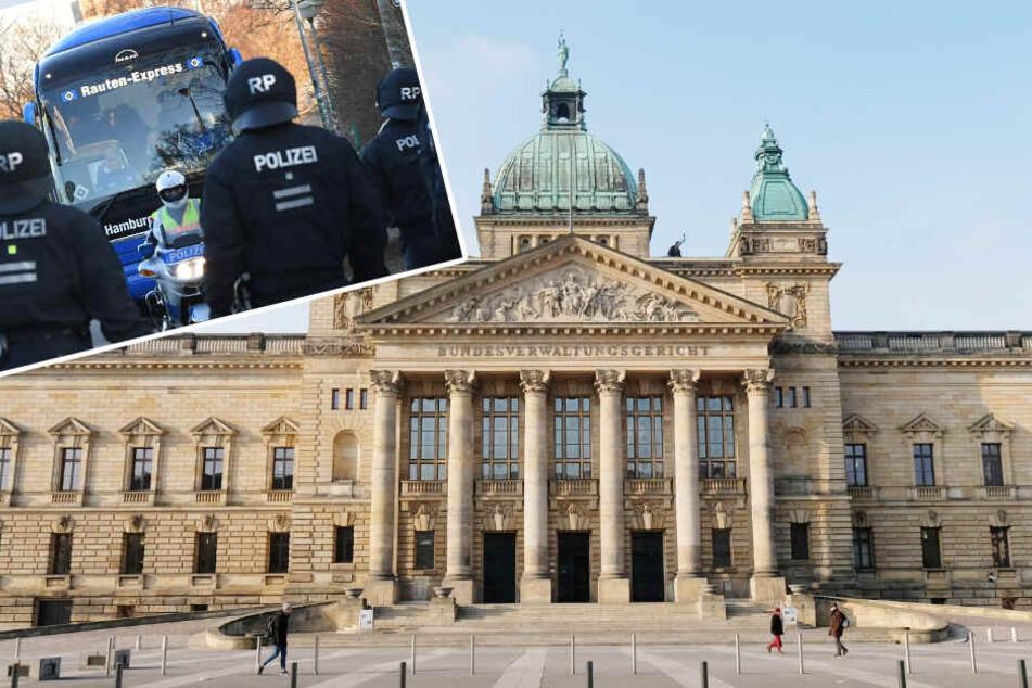 Verhandlung in Leipzig: Wer soll für Polizeieinsätze beim Fußball bezahlen?