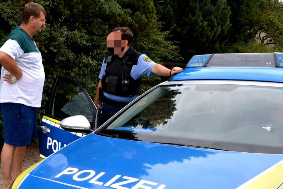 Auch die Polizei kann wenig ausrichten gegen die Unruhestifter.