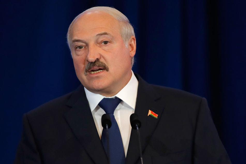 Der weißrussische Präsident Alexander Lukaschenko.