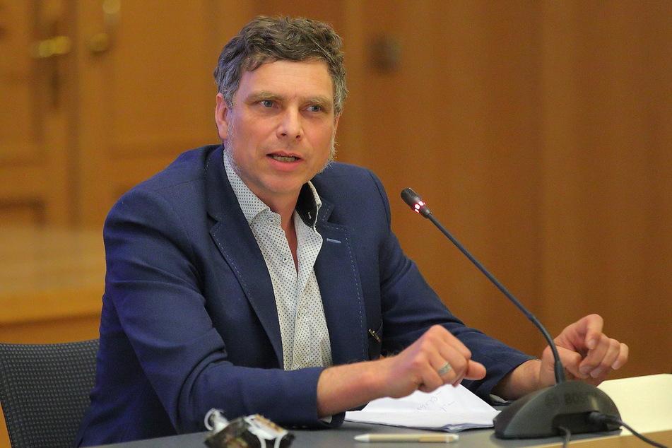 Thomas Löser (48, Grüne) und die Dresdner Grünen lehnen die Bebauung ebenfalls ab.