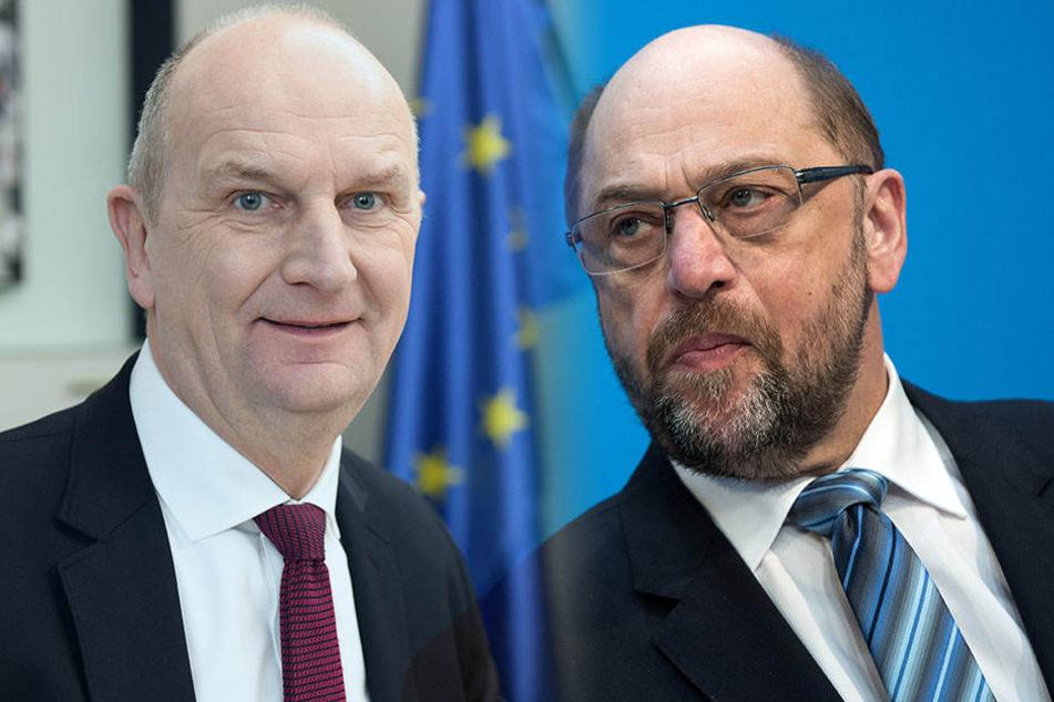 Brandenburgs Ministerpräsiden Dietmar Woidke lobte Martin Schulz für dessen Abgang.
