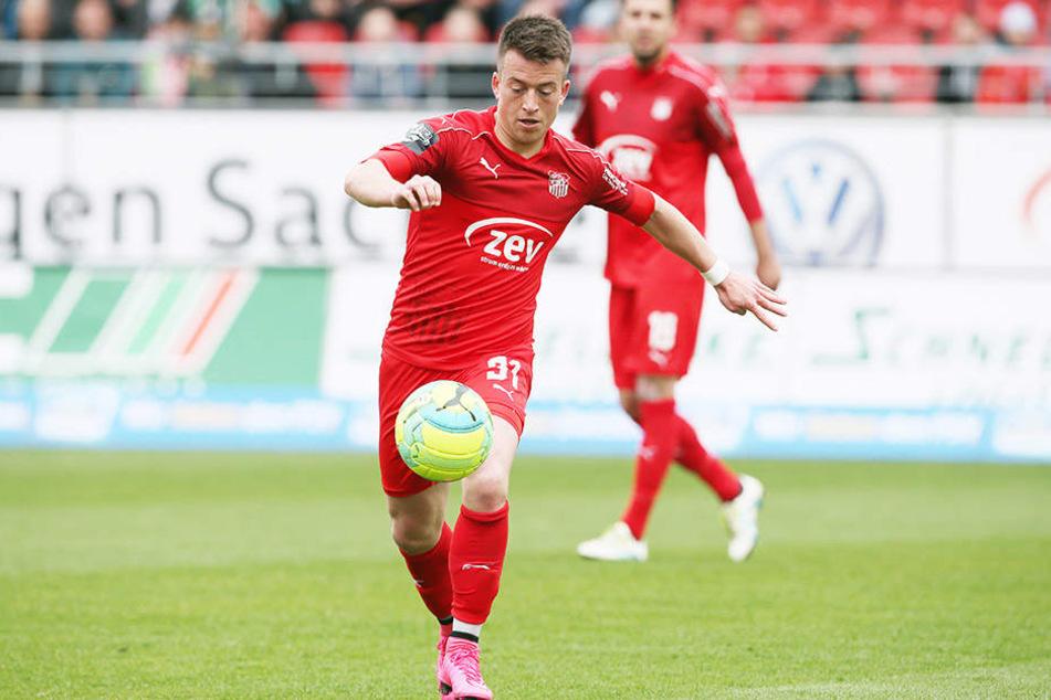Patrick Göbel ist einer der auffälligsten Zwickauer in dieser Saison. Er erzielte fünf Tore und gab zwölf Vorlagen.