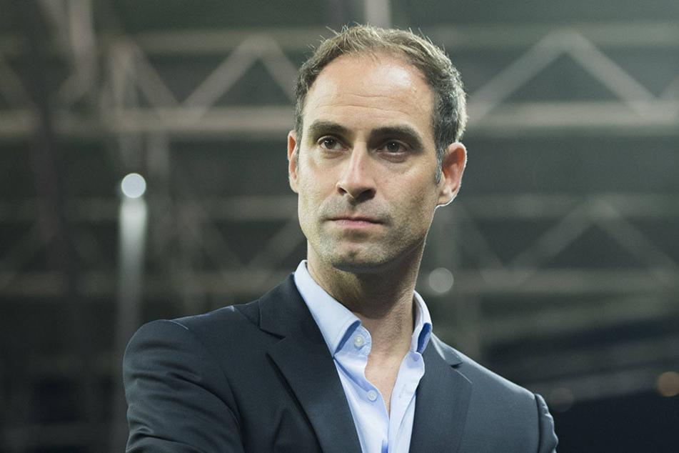 Oliver Mintzlaff (41) hat klare Vorstellungen von einem neuen Stadion.