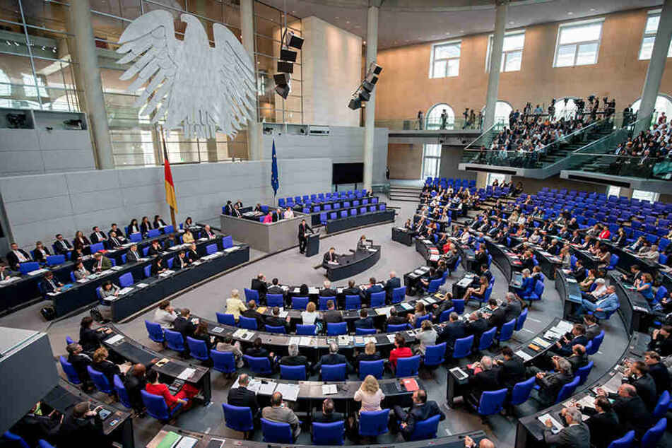 38 Sachsen sitzen im Bundestag.