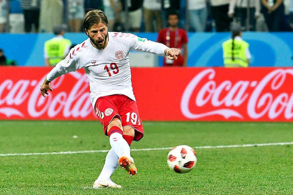 Der dänische Nationalspieler Lasse Schöne scheiterte mit der letzten Chance des Spiels an Heerenveens Keeper Werner Hahn.