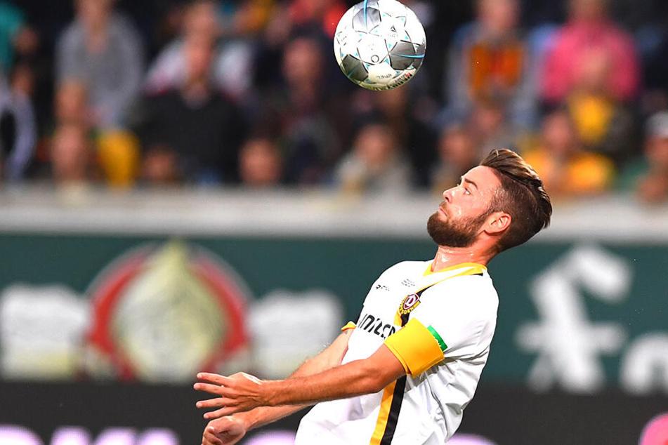 Niklas Kreuzer hat die Kapitänsbinde am linken Arm. Bleibt sie da für den Rest der Saison?