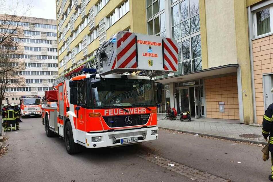 In einem Haus an der Gerberstraße in Leipzig kam es am Samstag zu einem Küchenbrand.