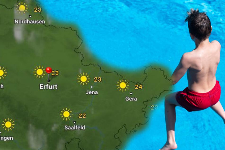 Kommt nach der Mega-Hitze das Mega-Gewitter in Thüringen?