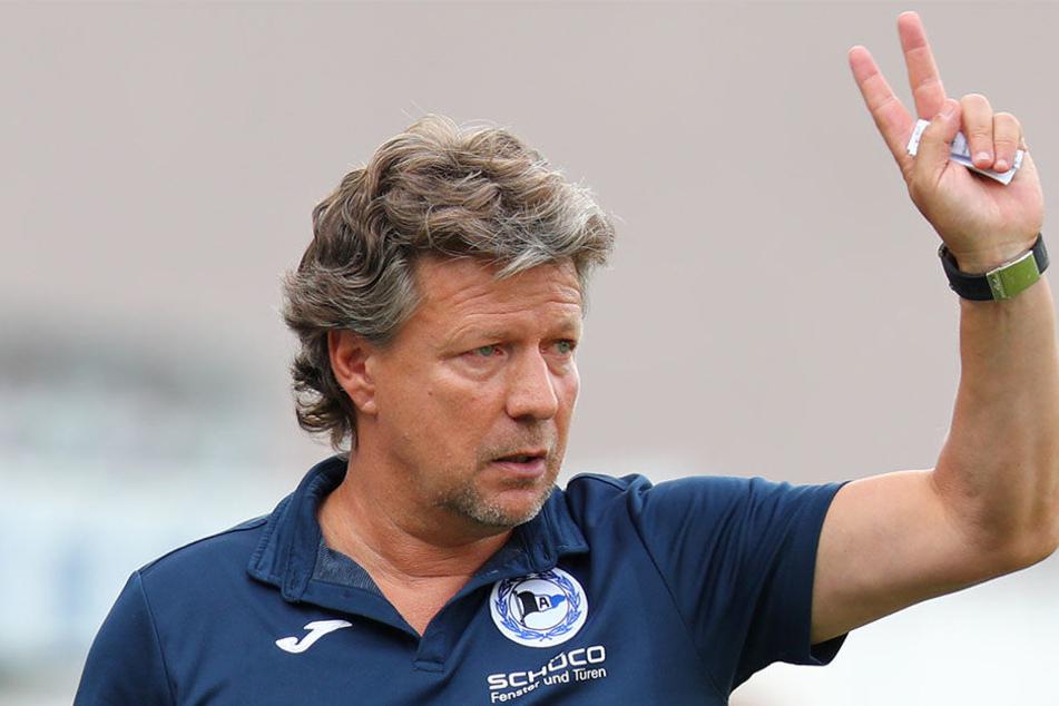 Für Jeff Saibene wird es das zweite Aufeinandertreffen mit dem VfL Bochum.