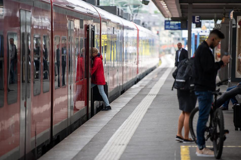 Die Auslastung der Züge der Deutschen Bahn in NRW liegt noch unter dem Vorjahresniveau.