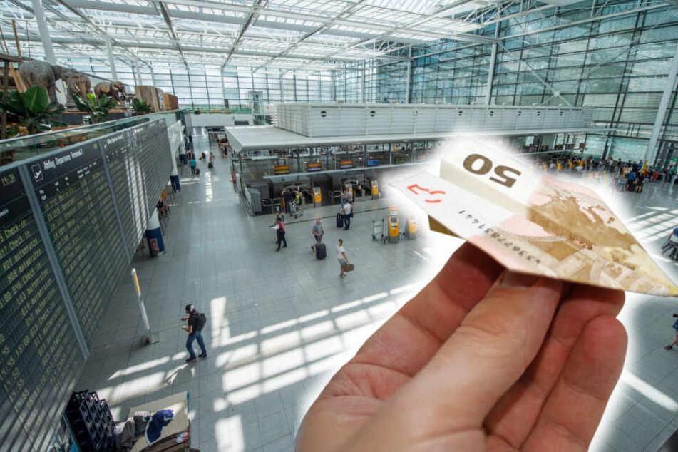 Reisende, die von Flugausfällen betroffen waren können im Internet einen 50-Euro-Gutschein für den Münchner Flughafen beantragen.