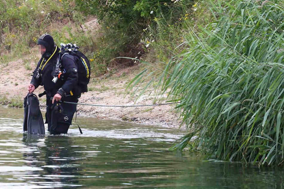 Im Haselbacher See bei Meuselwitz ist am Samstag ein Mann (64) ertrunken. (Symbolbild)