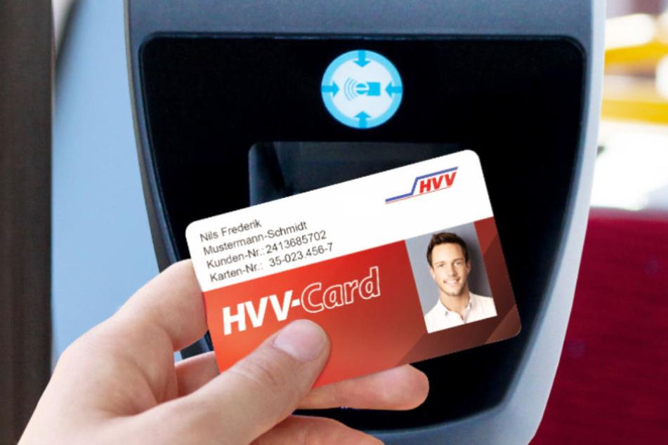 Inhaber der HVV-Card können damit bargeldlos ihr Ticket bezahlen.